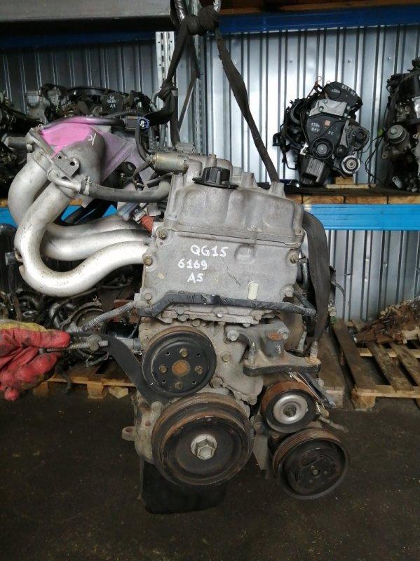 Двигатель Nissan Wingroad QG15DE