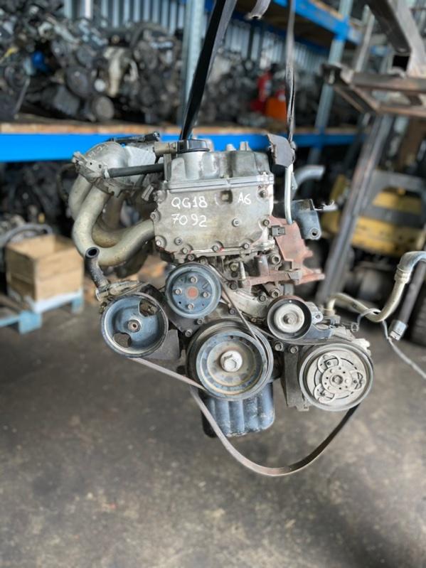 Двигатель Nissan Wingroad QG18DE