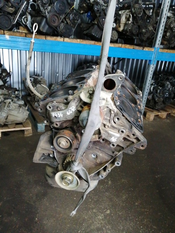 Блок двигателя Mitsubishi Pajero V23C 6G72