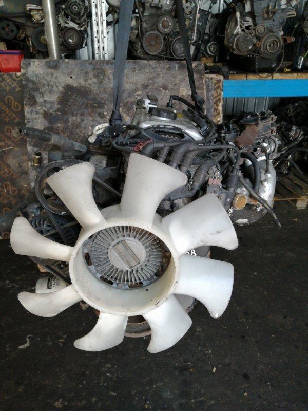 Двигатель Mitsubishi Delica PD4W 4G64