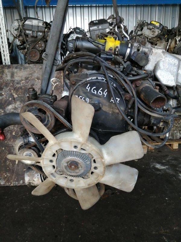 Двигатель Mitsubishi Delica P24W 4G64