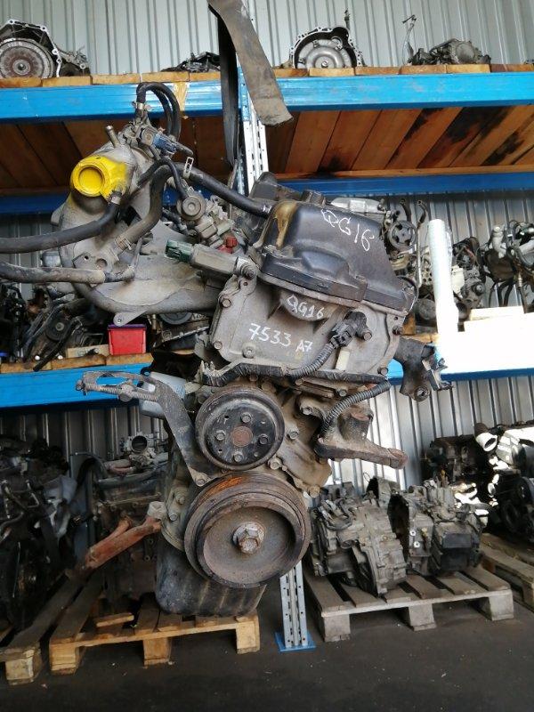 Двигатель Nissan Almera N16 QG16DE