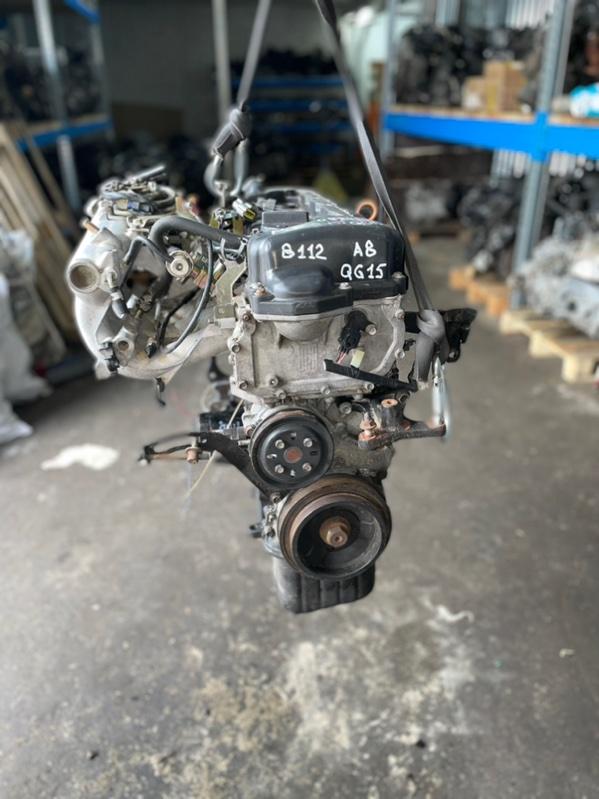 Двигатель Nissan Almera N16E QG15DE