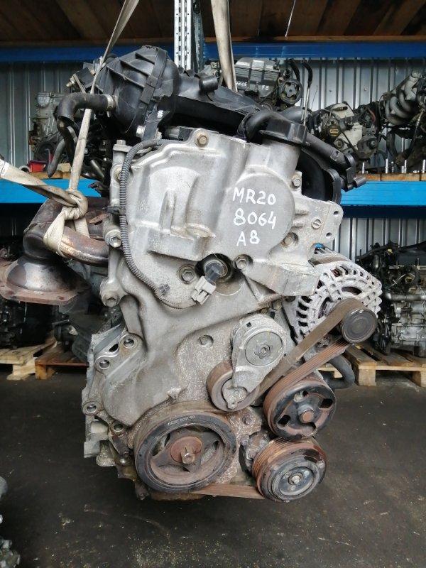 Двигатель Nissan Serena C25 MR20DE