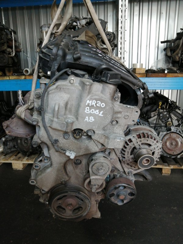 Двигатель Nissan X-Trail NT31 MR20DE