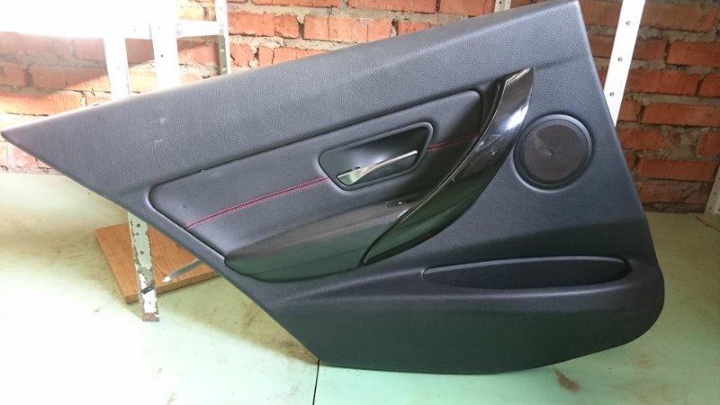 Обшивка двери Bmw 3-Серия F30 2011> задняя левая