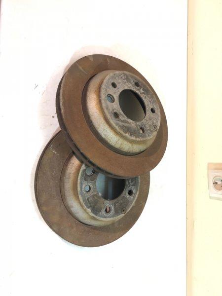 Диск тормозной Volkswagen Touareg NF 2013 задний