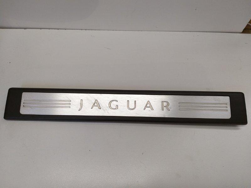 Накладка на порог Jaguar Xf I 3.6 2011 передняя