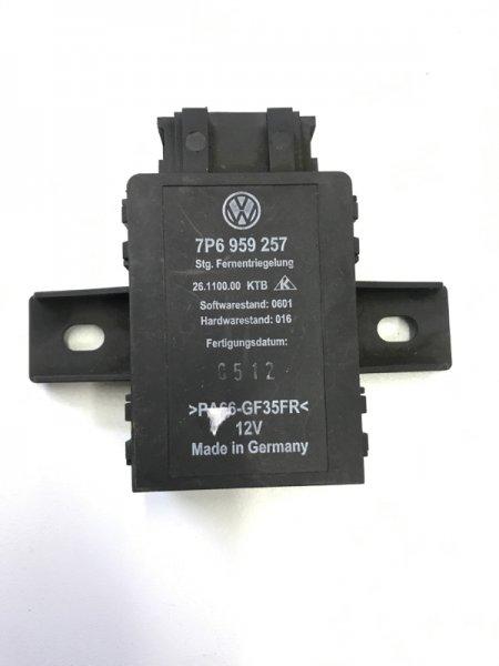 Блок управления сидением Volkswagen Touareg NF 2013