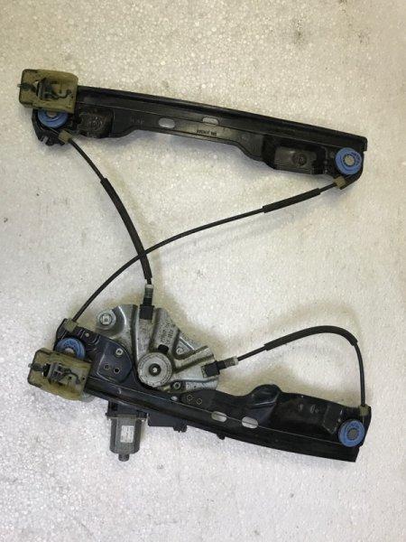 Механизм стеклоподьемника Opel Astra J 2013 передний правый