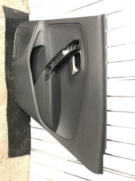 Обшивка двери Volkswagen Polo 2018 задняя правая
