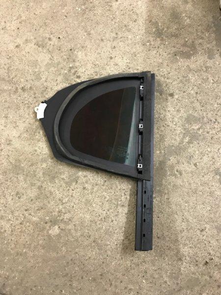 Стекло двери задней левой (форточка) Jaguar Xf I 2011
