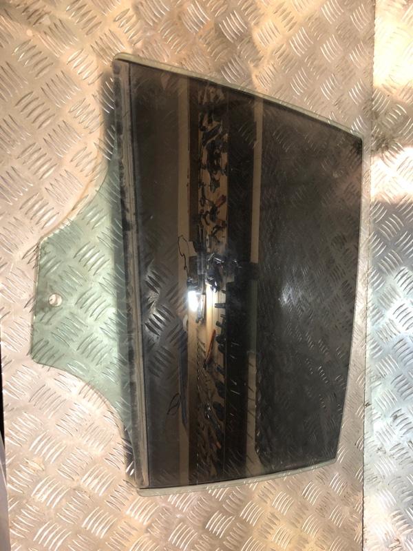 Стекло двери Bmw 5 F10 3.0 2012 заднее левое