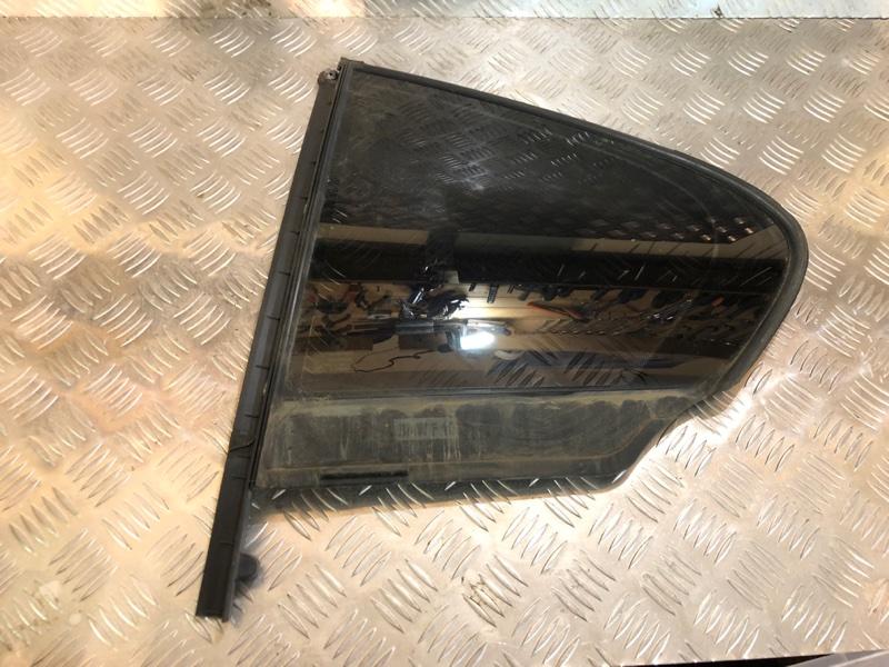 Стекло двери задней левой (форточка) Bmw 5 F10 3.0 2012