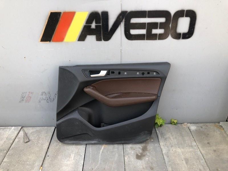 Обшивка двери Audi Q5 CNC 2014 передняя правая