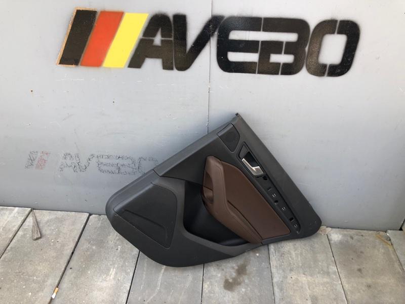 Обшивка двери Audi Q5 CNC 2014 задняя правая