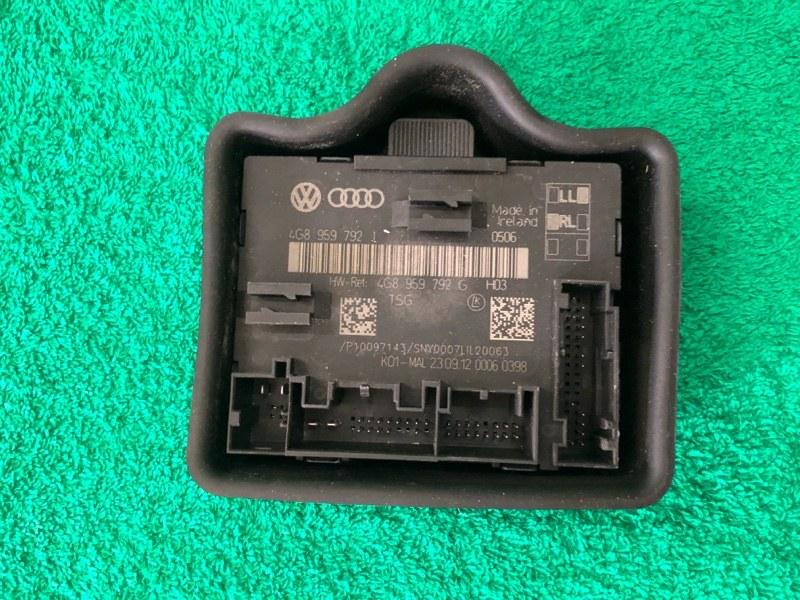 Блок комфорта двери Audi A6 C7 3.0 2014 передний правый
