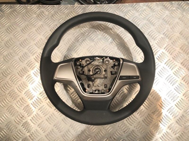 Рулевое колесо без air bag Hyundai Solaris 2 2019