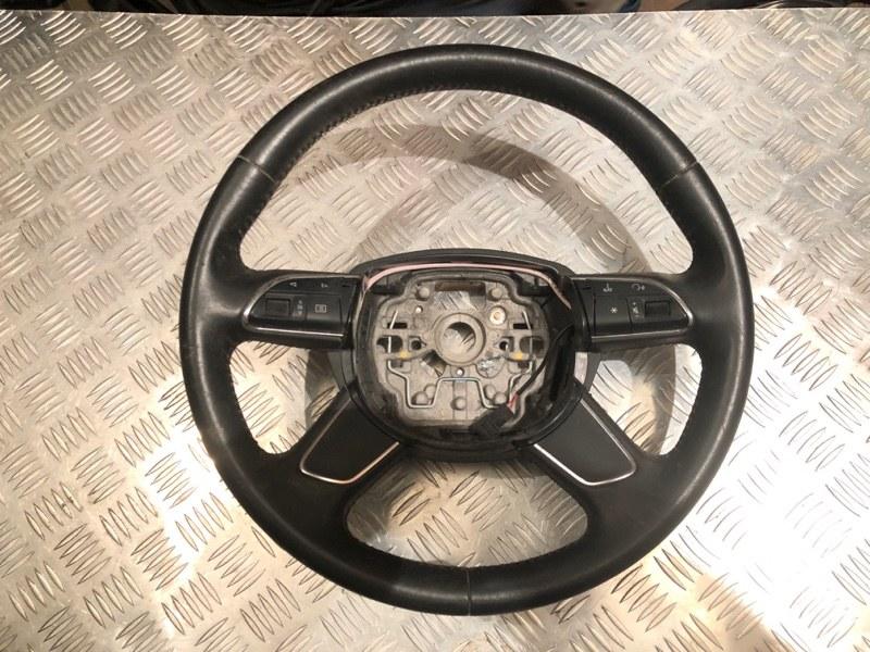 Рулевое колесо без air bag Audi A6 C7 3.0 2014
