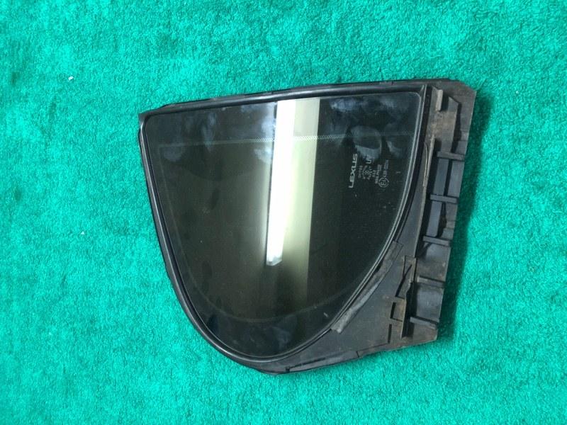 Форточка Lexus Gs 4 L10 4GR 2.5 2012 задняя правая