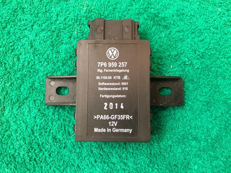 Блок управления сиденьями Volkswagen Touareg NF CRC 3.0D 2014