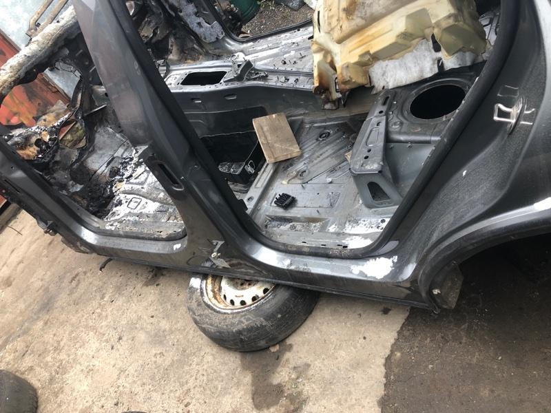 Порог со стойкой Volkswagen Touareg NF CRC 3.0D 2014