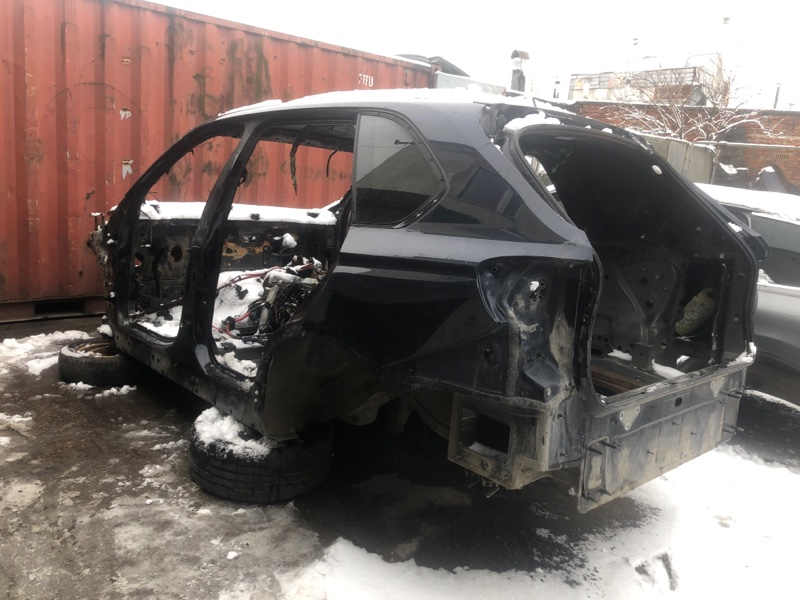 Кузов целиком Bmw X5M F85 F15 S63B44B 2015