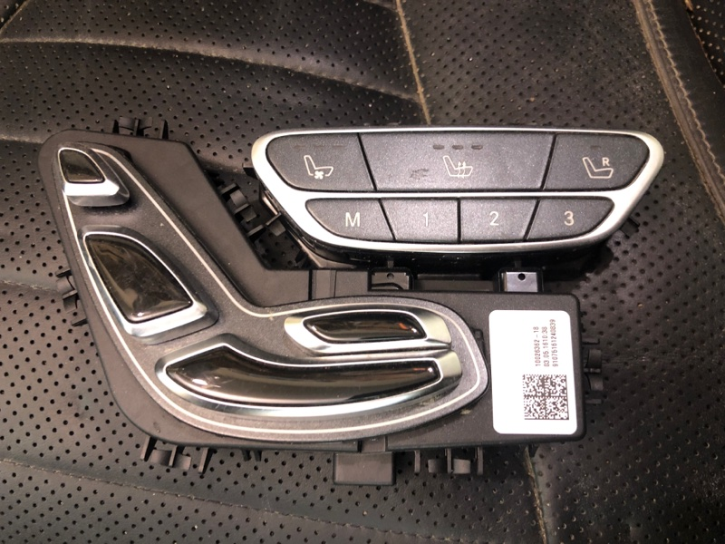 Блок кнопок Mercedes Benz S W 222 2017
