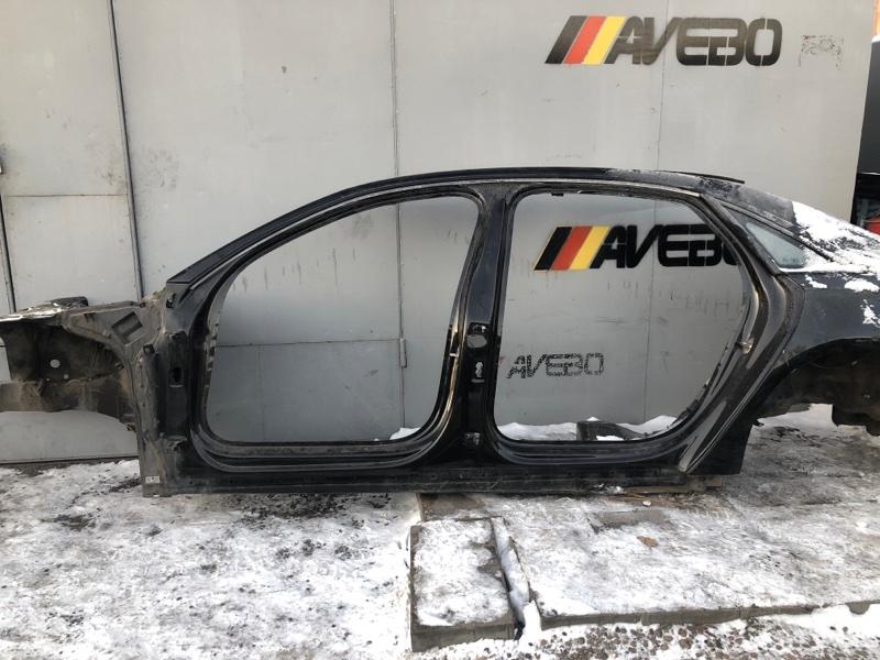 Порог со стойкой левый Audi A8 4H D4 6.3 2015