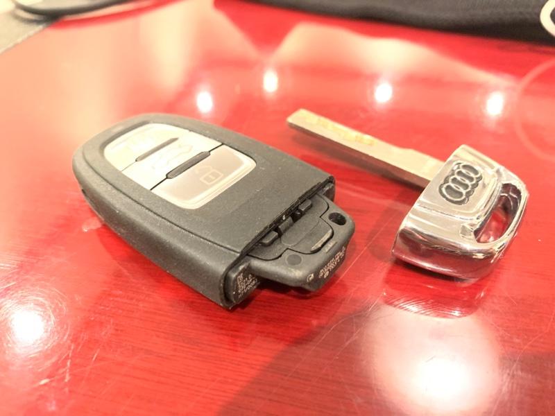 Ключ с лечинкой Audi A5 Sportback 8T CNC 2014