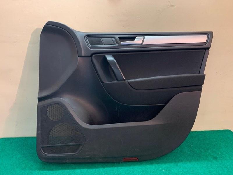 Обшивка двери Volkswagen Touareg NF 3.6 2013 передняя правая