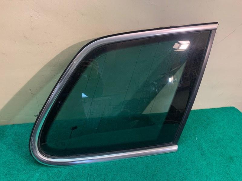 Стекло кузова Volkswagen Touareg NF 3.6 2013 заднее правое
