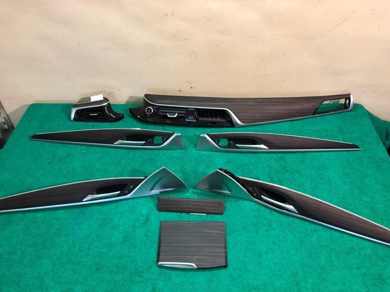 Декор планки дерево салон комплект Bmw 5-Series G30 B48B20B 2019