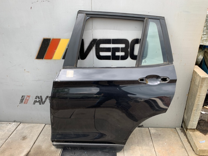 Дверь голая Bmw X5M F85 F15 S63B44B 2015 задняя левая