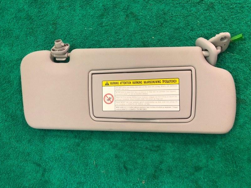 Козырек солнцезащитный Honda Crv 3 2.4 АКПП 2008 передний правый