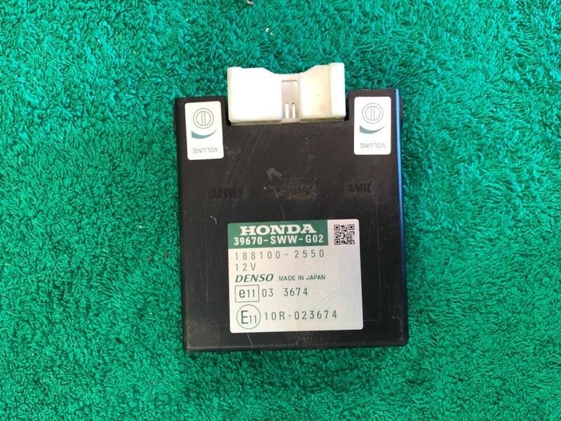 Блок управления парктрониками Honda Crv 3 2.4 АКПП 2008