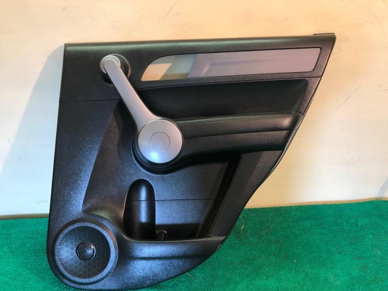 Обшивка двери Honda Crv 3 2.4 АКПП 2008 задняя правая