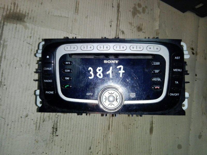 Магнитола Ford Focus 2 CB4 1.8 ДИЗЕЛЬ 2008