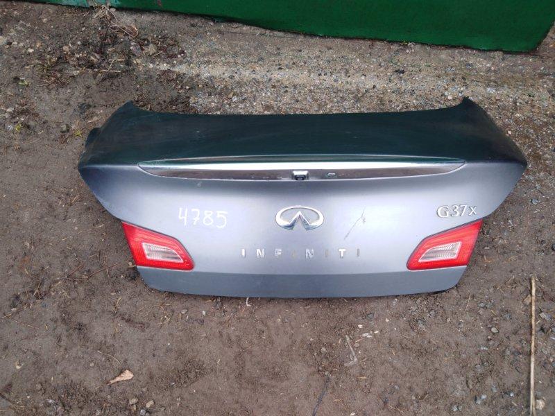 Крышка багажника Infiniti G37 СЕДАН 3.7 2011