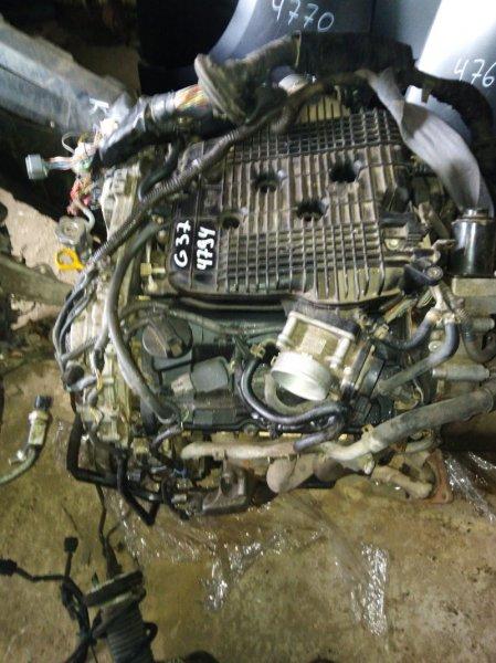 Двигатель Infiniti G37 СЕДАН 3.7 2011
