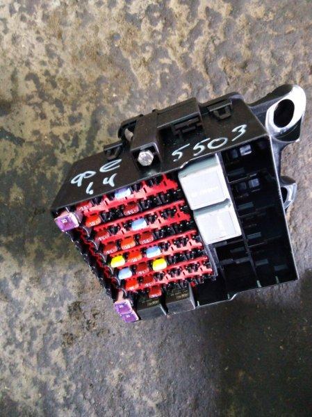 Блок предохранителей салонный Ford Fiesta 6 CB1 ХЭТЧБЕК 1.4 SPJA 2009