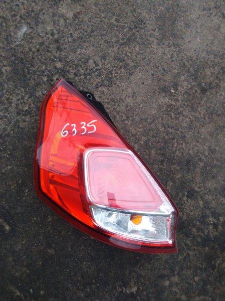 Фонарь Ford Fiesta 6 CB1 ХЭТЧБЕК 1.6 2015 задний левый