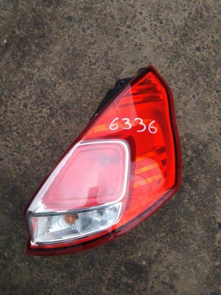 Фонарь Ford Fiesta 6 CB1 ХЭТЧБЕК 1.6 2015 задний правый