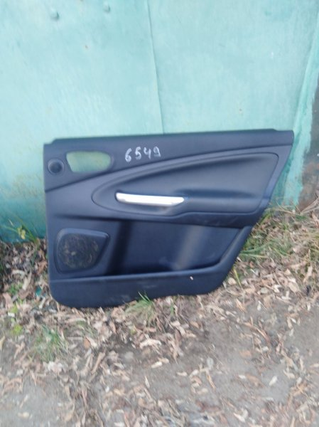 Обшивка двери Ford S-Max 2006 задняя правая