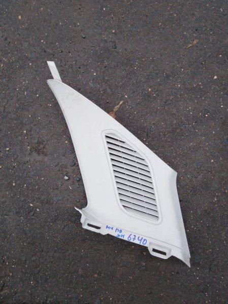 Обшивка стойки Ford Mondeo 4 BG 2.0 ЭКОБУСТ 2012 задняя правая
