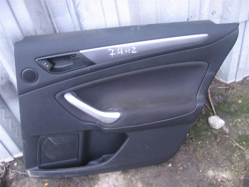 Обшивка двери Ford Mondeo 4 BD 2.3 2011 задняя правая