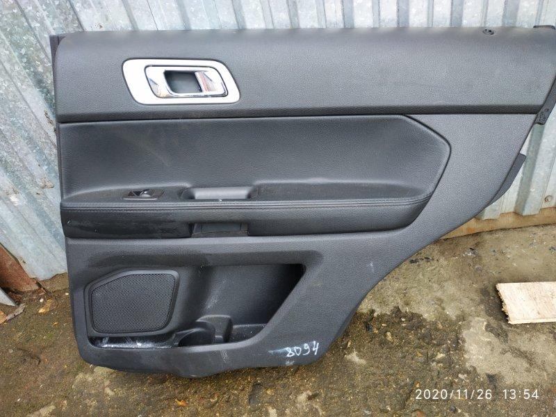 Обшивка двери Ford Explorer 5 U502 3.5 2014 задняя правая