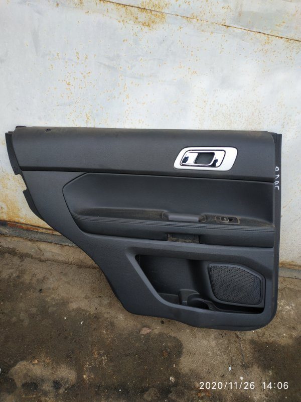 Обшивка двери Ford Explorer 5 U502 3.5 2014 задняя левая