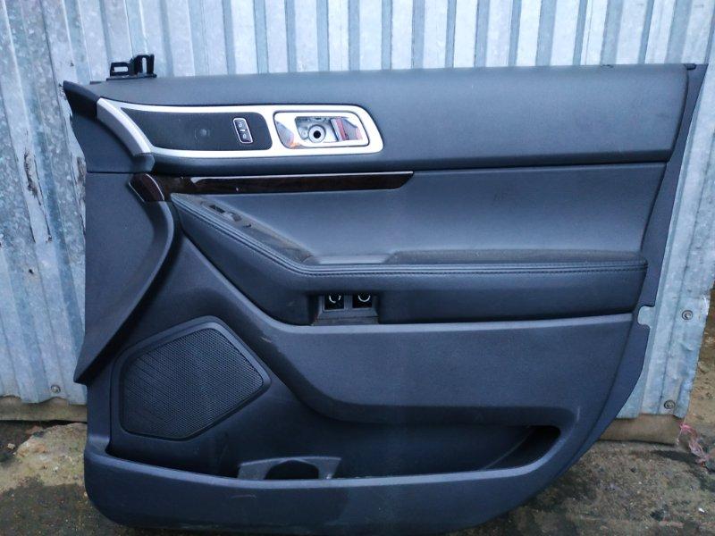 Обшивка двери Ford Explorer 5 U502 3.5 2014 передняя правая