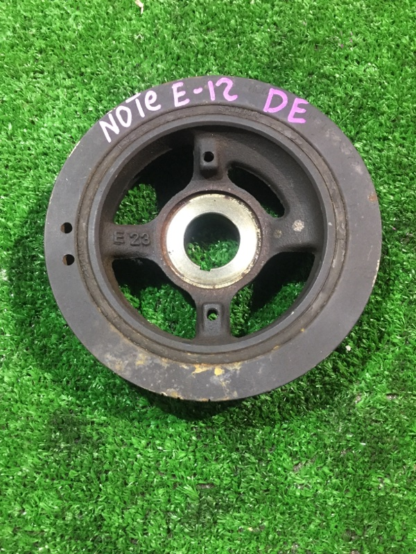 Шкив Nissan Note E12-083401 HR12DE 2012